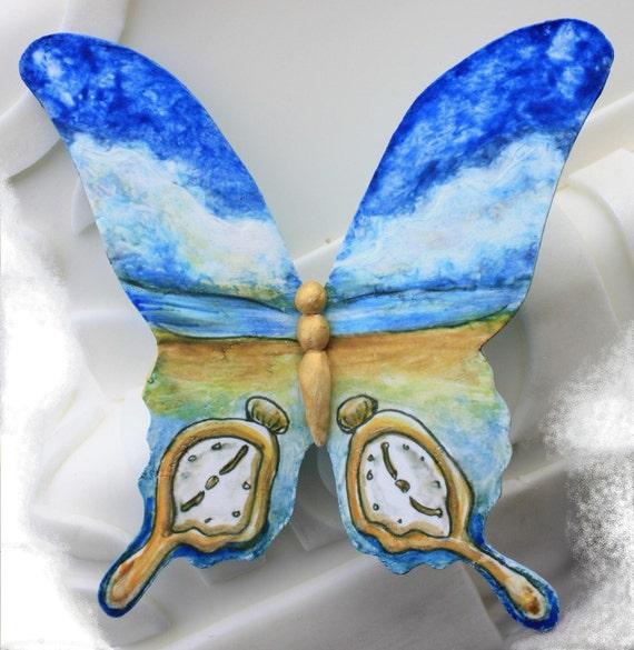 Gumpaste Butterfly - Salvador Dali