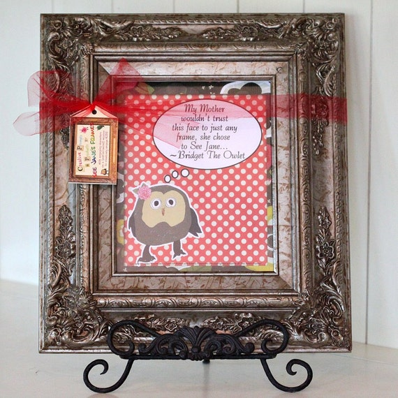 Children's Art & Writing Masterpiece Frame Pocket  (Burnished Silver with 8 X 10 Opening)
