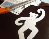 Monkey applique PDF template