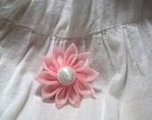 Baby Pink Flower. Czech Beads.