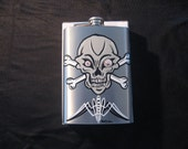 8oz. Stainless Steel Flask