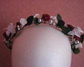 Flower Fairy bridal headband