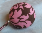 Pink Damask Tape Measure