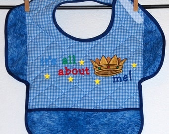 ABOUT ME, Bib With Attitude for Toddler Boy