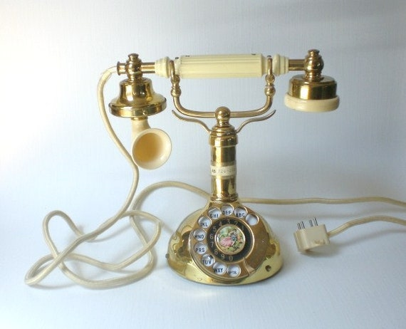 Vintage Regency Telephone Princess Made in Japan 1967