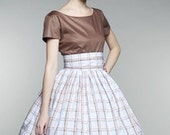 Beautiful 50s Mad Men Party Dress (XS)