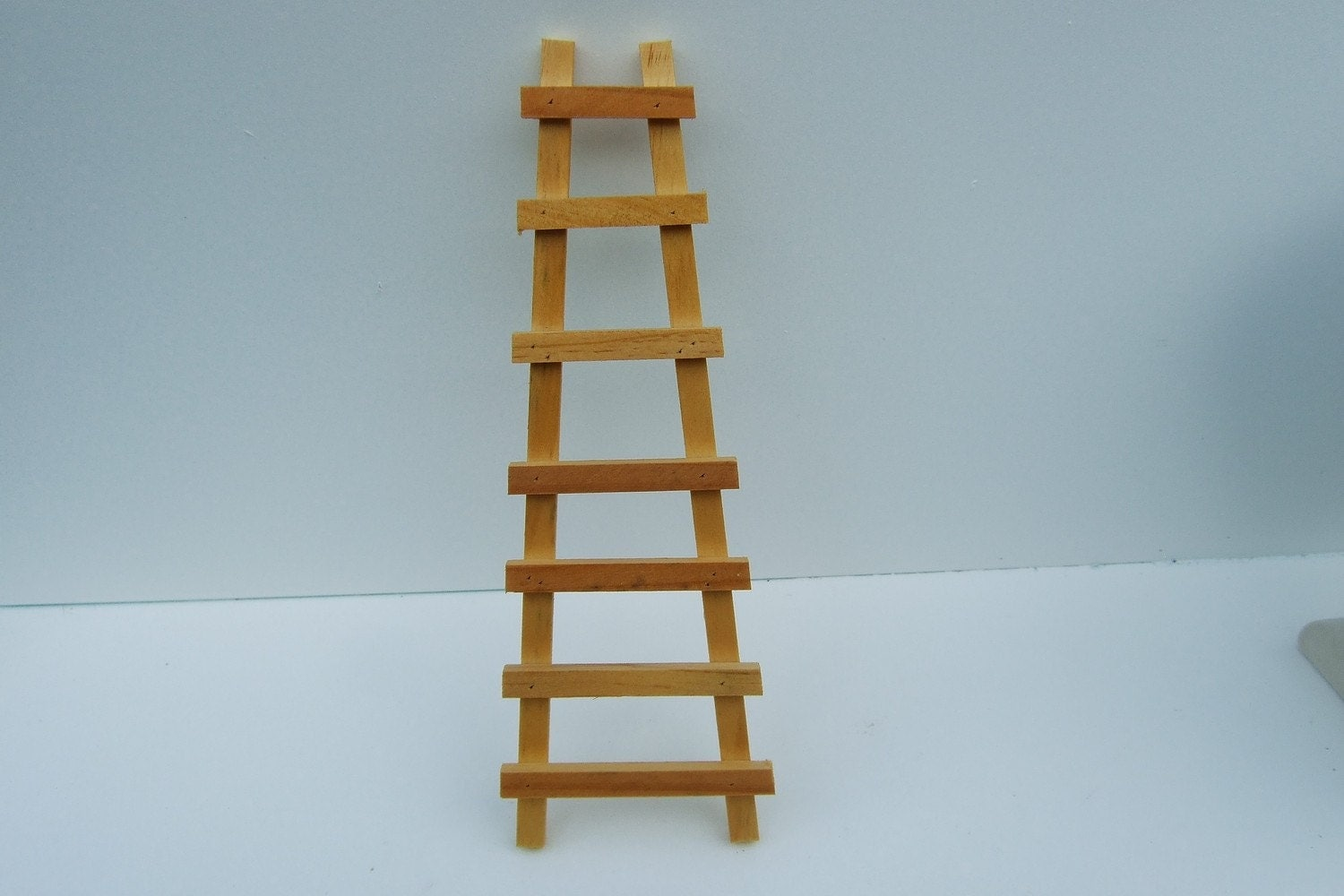 Miniature Ladder Wood Old Style By Arkansawmill On Etsy