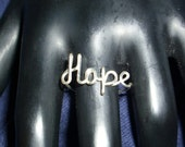 Sterling Silver Hope Ring SPECIAL Discount PRICE