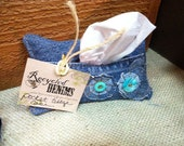 Recycled Denims Floral Pocket Tissue
