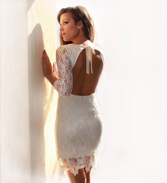 Special listing for Cassidy - White Lace Dress
