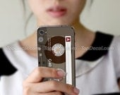 Cassette Tape iPhone 4 Skin - Style D