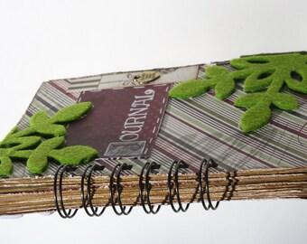 art  journal  CHRISTMAS Diary- on SALE 50%