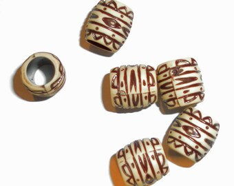 50 european dread beads