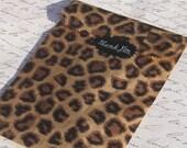 100 pc - Leopard Print BAG - 4 x 6 bag