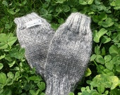 Hand knit baby leg warmers