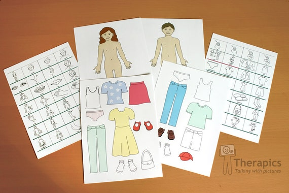 Learning pack for My Body and Clothing - digital download
