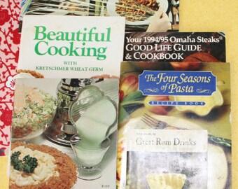 Vintage Recipe Booklet Bunch