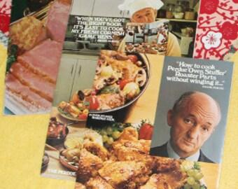 Vintage Perdue Recipe Booklets