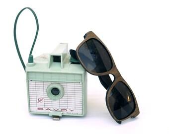 American Walnut Wayfarer // The Original Handcrafted Wood Veneer Sunglasses
