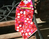 Hearts All Over Diaper Clutch and Diaper Wipes Combo
