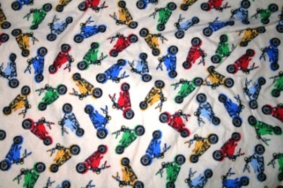 Motorcycles Flannel Blankets