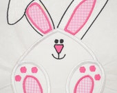 White Rabbit Embroidery Appliques