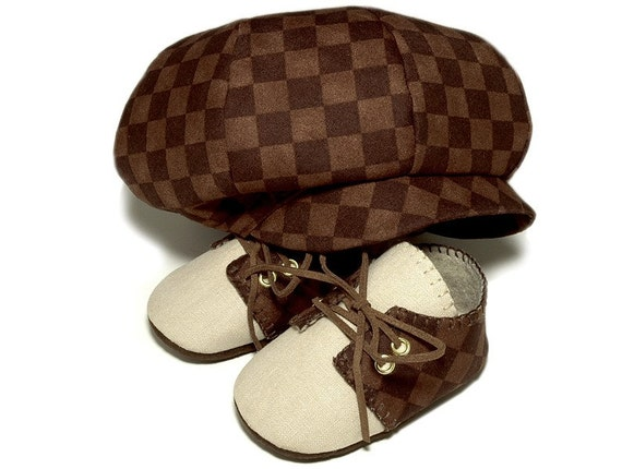 Baby Boy Hat, Ring Bearer Hat, Baby Golf Hat, Boys Hat, Baby Shoes, Newsboy Hat, Infant Hats, Baby Hats and Shoes, Baby Accessories, Newborn