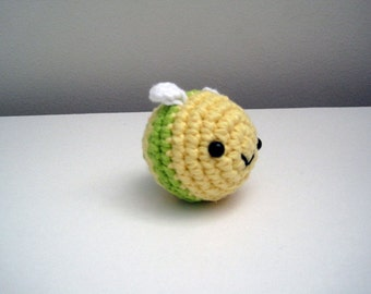 Little Green Bee-Amigurumi Bee