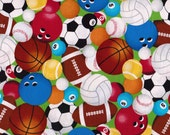 Cotton Print Sports Balls 31 Inches