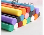 10 pcs Japan dazzle colour hot melt glue stick jam-------  Decoration and Nail Art