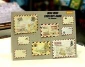 15 Sheets Korea DIY Lovely little prince MiNi Envelopes Sets