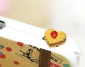 Sweet Bow Earphone Plug iPhone Cookies Earphone Plug