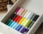 "30Pcs Superior Sewing Thread Colorful Series 120 Yards "" Each"