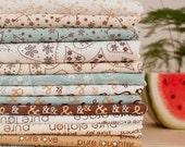 "Cotton Fabric Cloth -DIY Cloth Art Manual Cloth -Cloth Set  14Pieces 10x9 Inches "" Each"