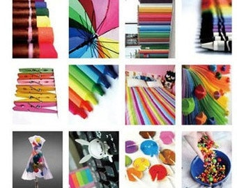 40 kinds Korea DIY Picture stickers seal stickers--Many color