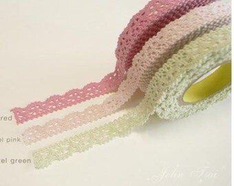 Rural wind only beautiful multi-function adornment Masking Lace Tape