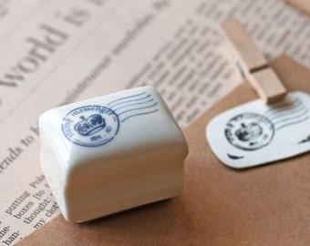 Korea DIY Ceramics Zakka Stamp Set-Postmark
