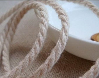 6 Yards Linen Cotton Rope Decorative Rope Cotton Cord 3mm Wide