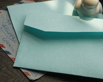 10 sheets Paper Envelope Set kraft Paper Envelopes DIY Letter Envelopes-Field Mint