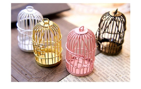 Classical, wrought iron furnishing articles, jewelry materials bird cage