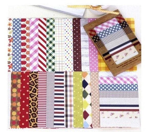 28 Sheets Korea DIY diary adornment stickers set