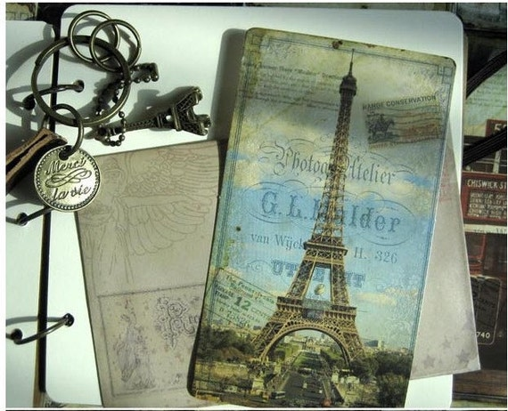 1Sets /20 kinds Korea DIY vintage cards Eiffel Tower postcards