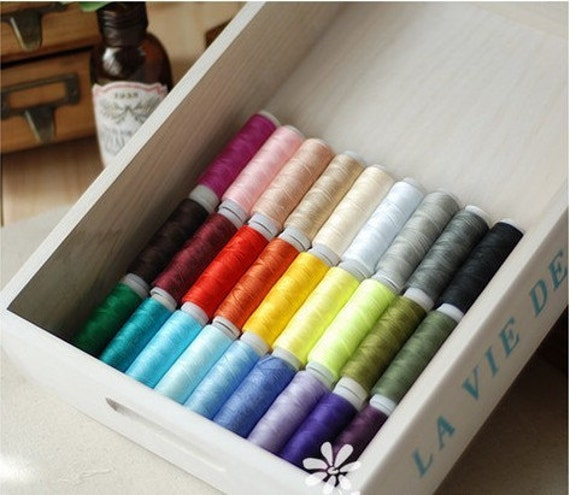 """30Pcs Superior Sewing Thread Colorful Series 120 Yards """" Each"""