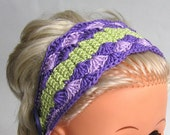 Crochet headband (adult size) - donated by baahar