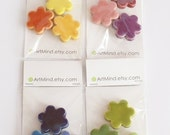 Flower magnets - 3 colors  - donated by ArtMind
