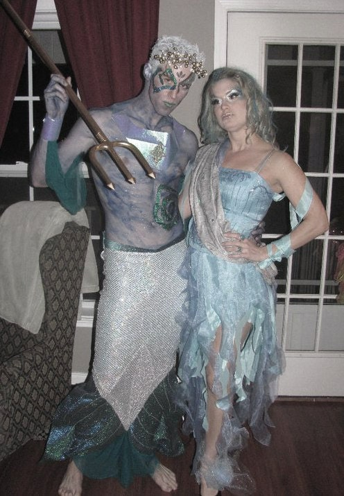 Water Nymph Costume Water Sprite Water Fai...