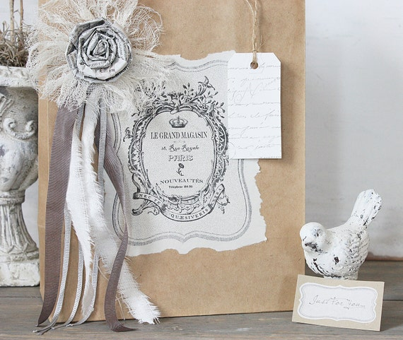 Rustic French Gift Bag
