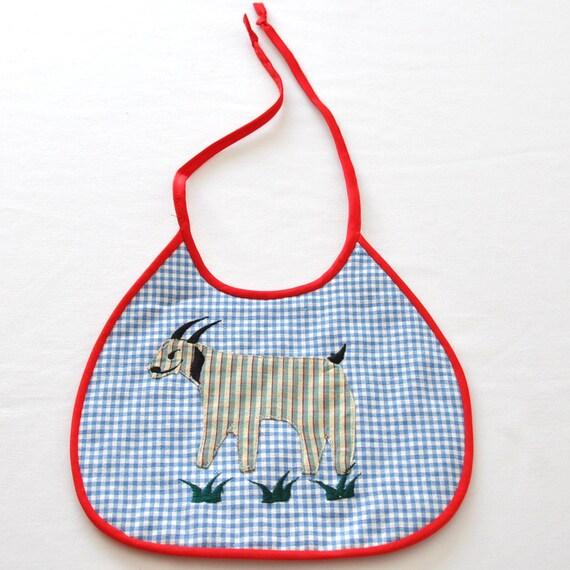 Billy Goat Small Tie Bib