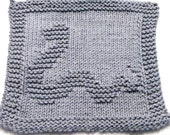 Knitting Cloth Pattern - HAPPY SNAKE  - PDF