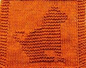 Knitting Pattern - PUPPY - PDF -